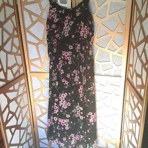 EUC DENIM 24/7 Floral Maxi Dress